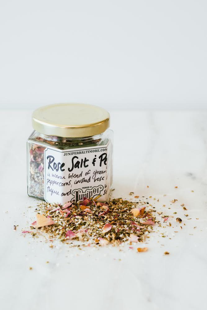 Rose Salt & Pepper